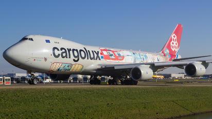 LX-VCM - Cargolux Boeing 747-8F