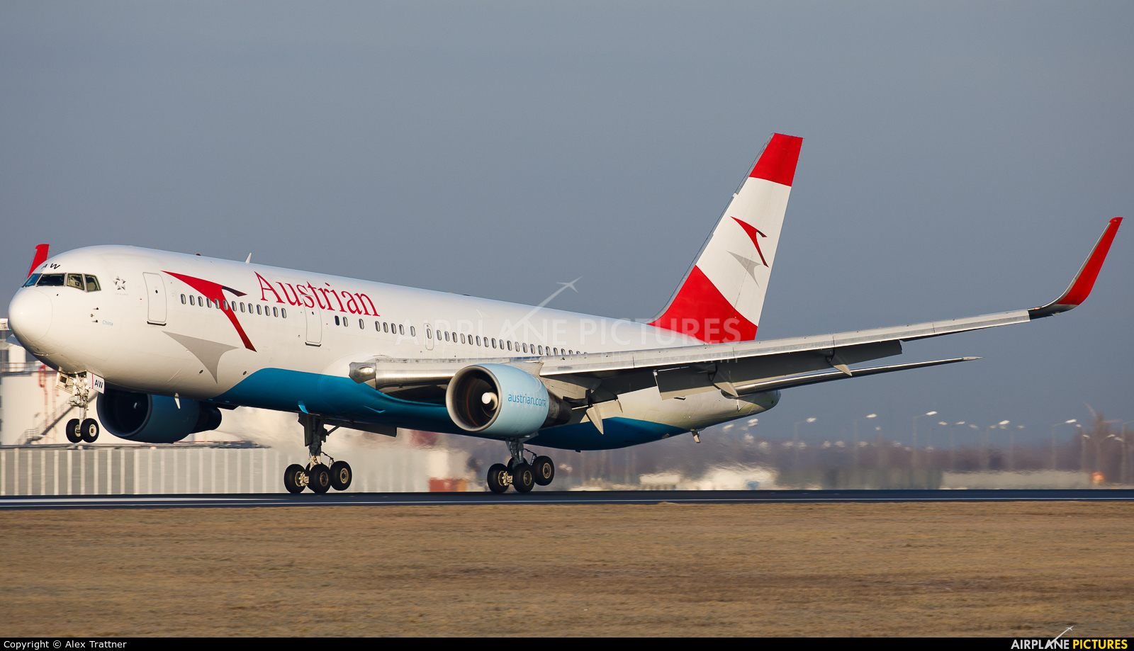 Austrian Airlines/Arrows/Tyrolean OE-LAW aircraft at Vienna - Schwechat