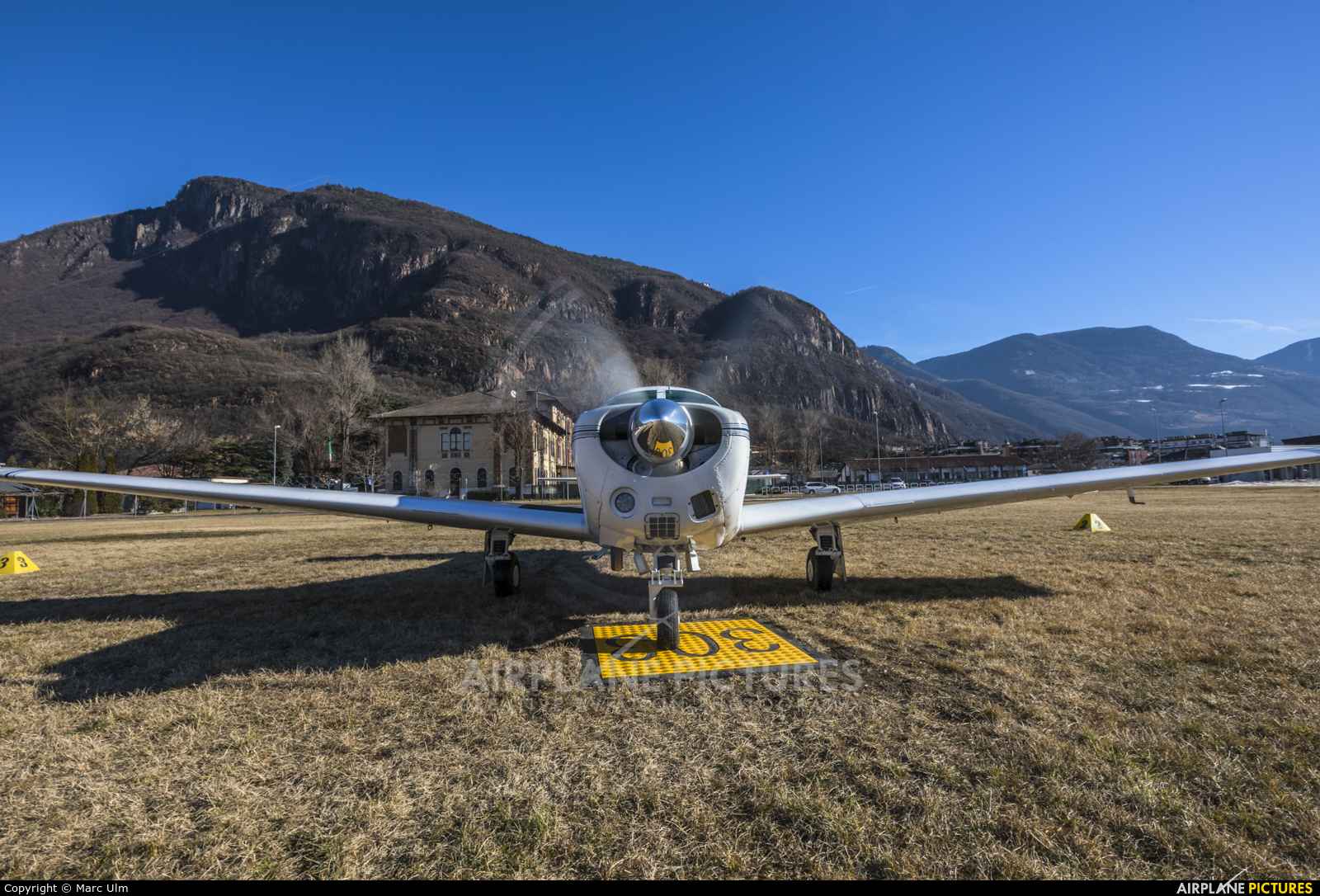 Private F-BRHA aircraft at Bolzano
