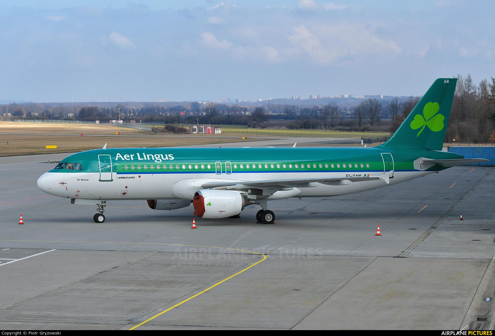 Aer Lingus EI-GAM aircraft at Ostrava Mošnov