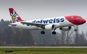 HB-IJU - Edelweiss Airbus A320