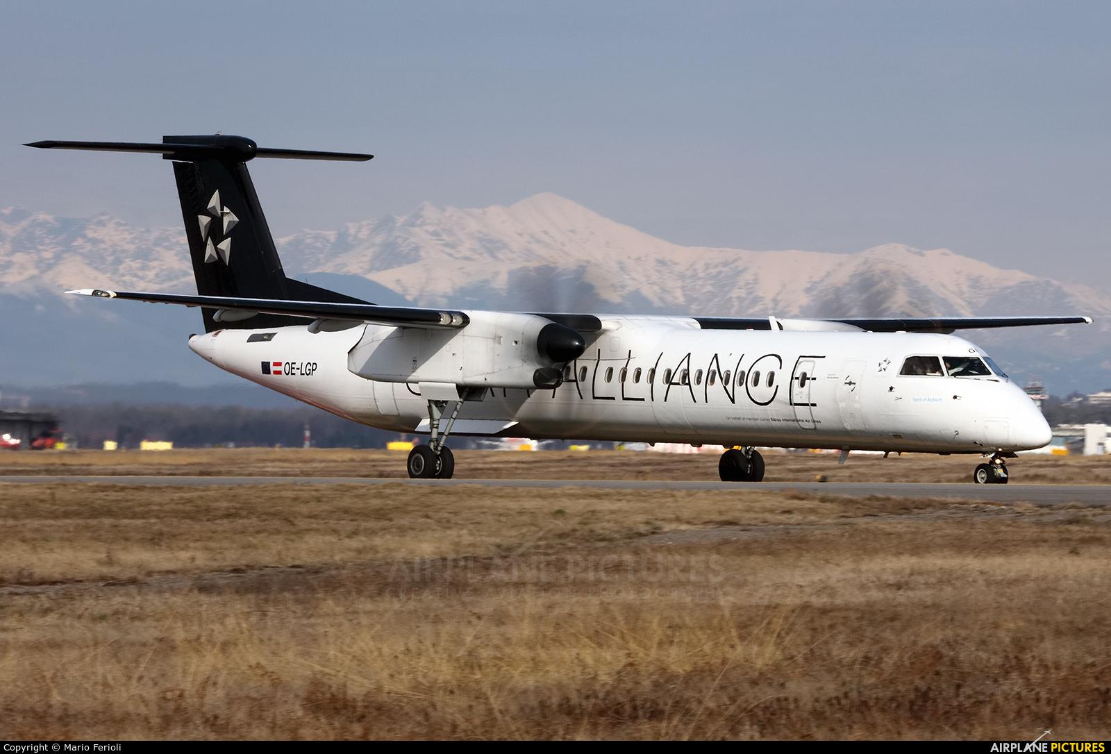 Austrian Airlines/Arrows/Tyrolean OE-LGP aircraft at Milan - Malpensa