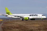YL-CSA - Air Baltic Bombardier CS300 aircraft