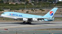 HL7627 - Korean Air Airbus A380 aircraft