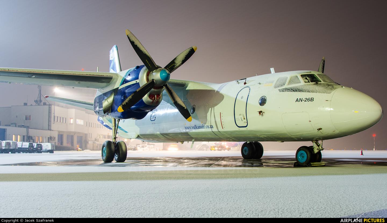 Vulkan Air UR-CQE aircraft at Katowice - Pyrzowice