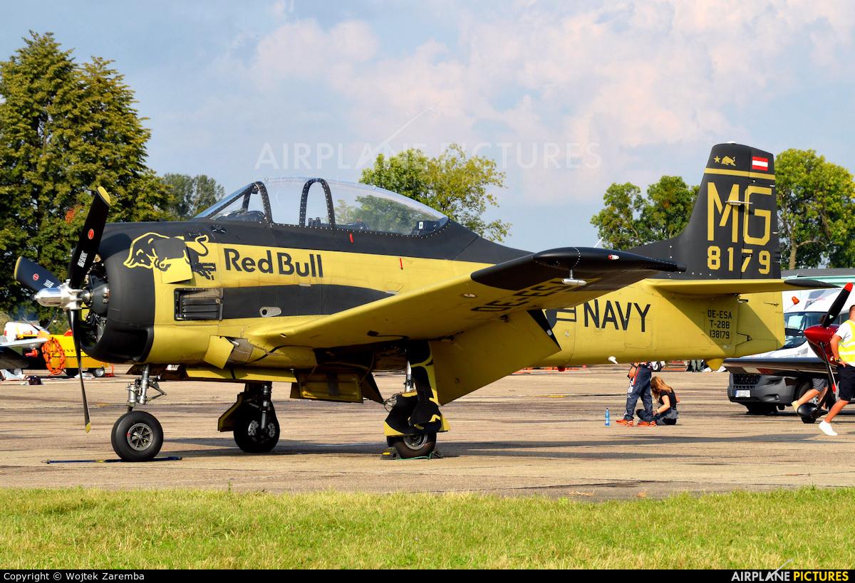 Red Bull OE-ESA aircraft at Radom - Sadków