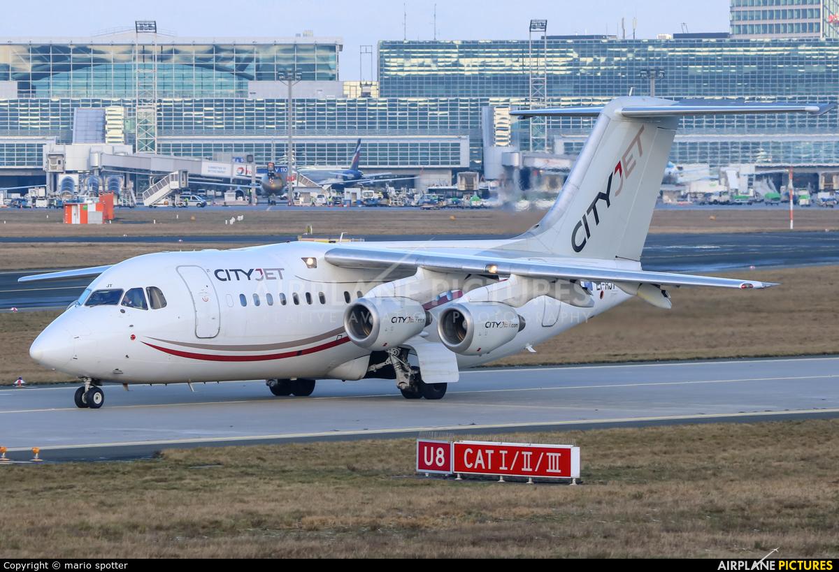 CityJet EI-RJT aircraft at Frankfurt