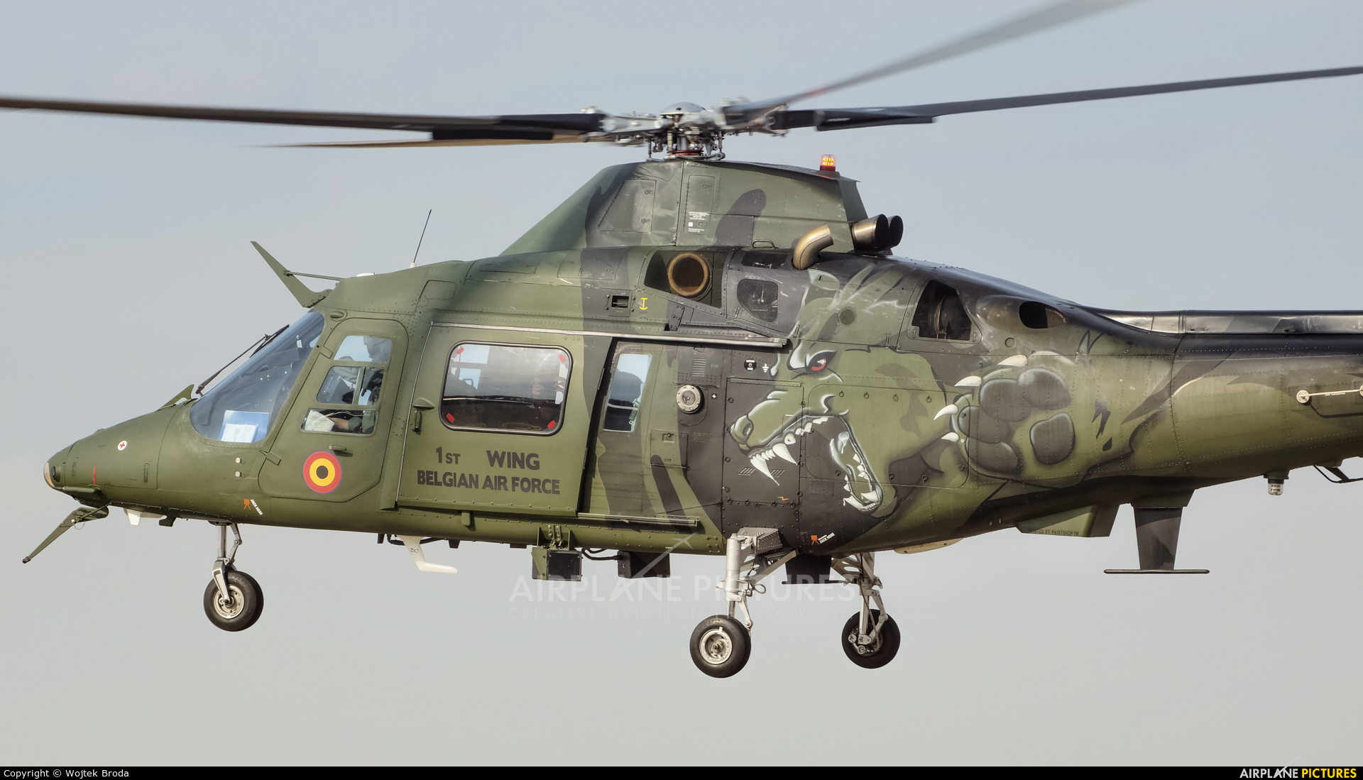 Belgium - Air Force H29 aircraft at Hradec Králové