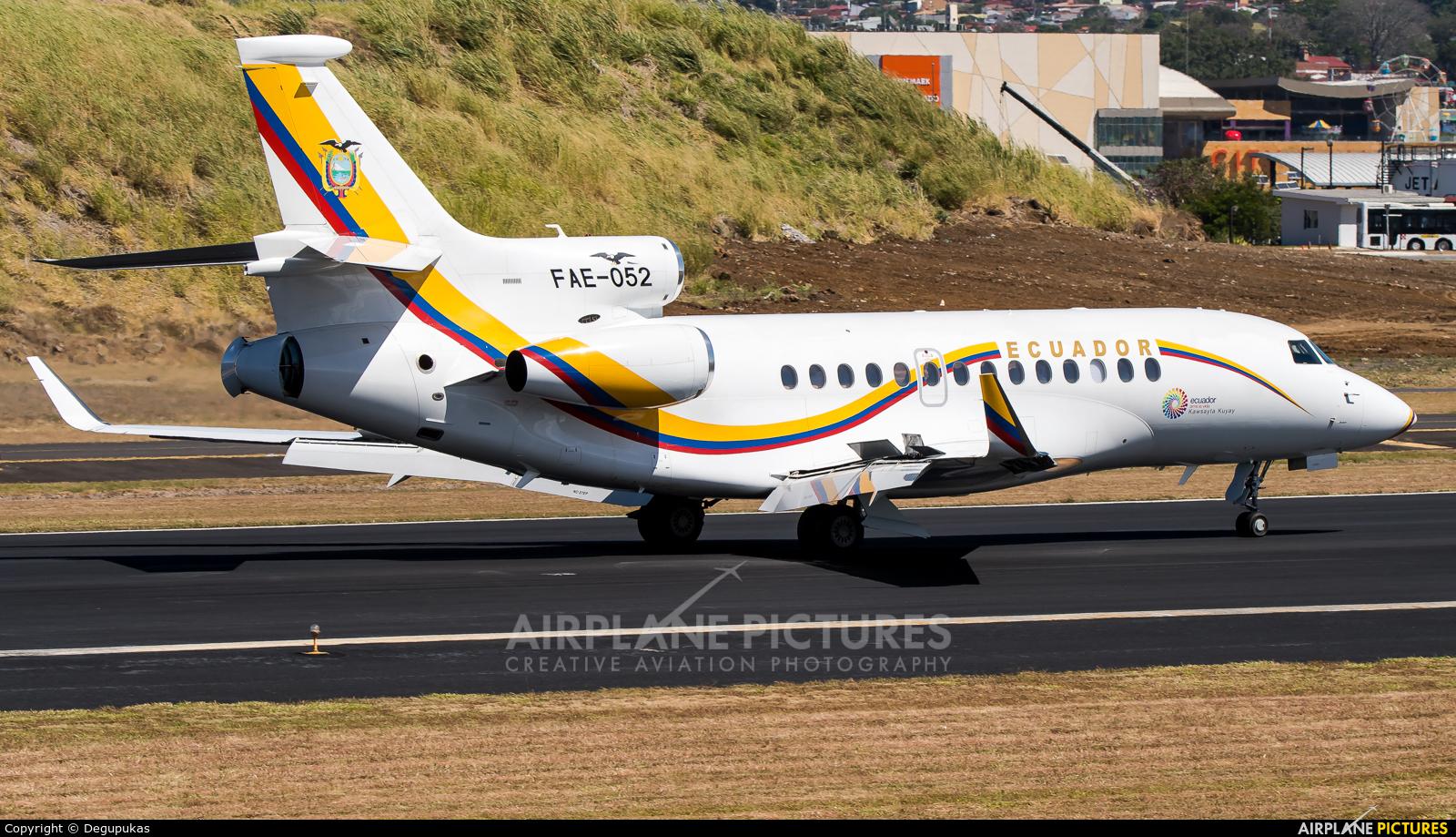 Ecuador - Air Force FAE-052 aircraft at San Jose - Juan Santamaría Intl