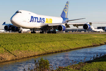 N493MC - Atlas Air Boeing 747-400F, ERF