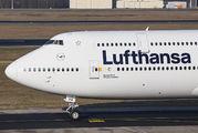 D-ABYA - Lufthansa Boeing 747-8 aircraft