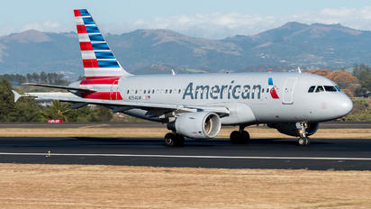 N754UW - American Airlines Airbus A319