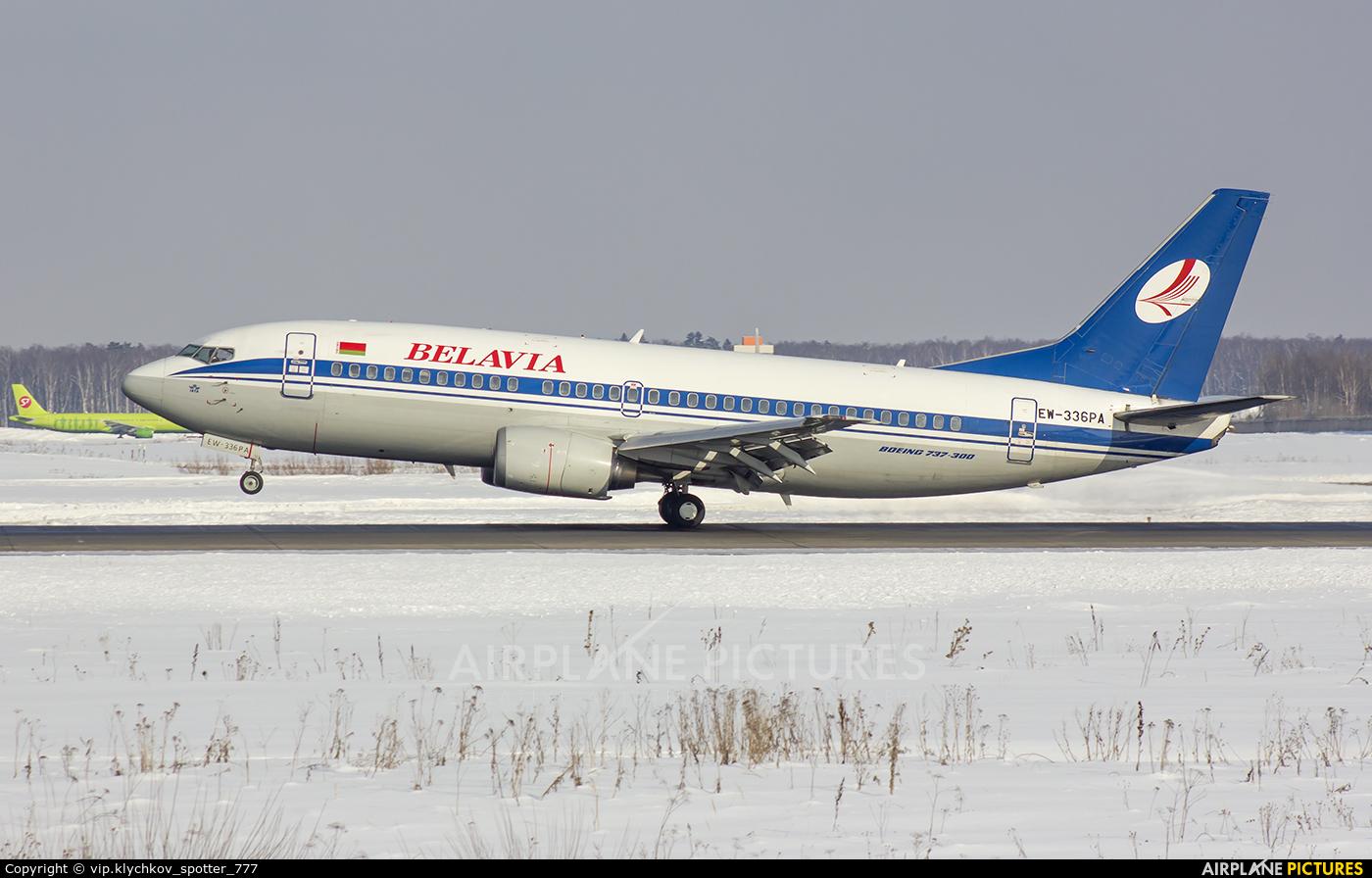Belavia EW-336PA aircraft at Moscow - Domodedovo