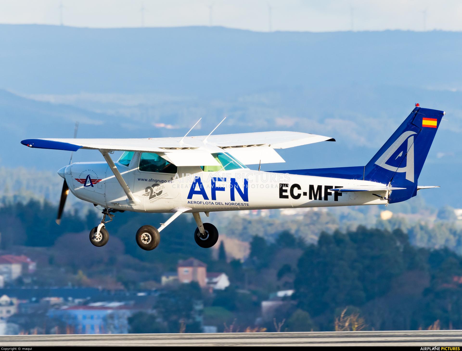 Aeroflota del Noroeste EC-MFF aircraft at La Coruña