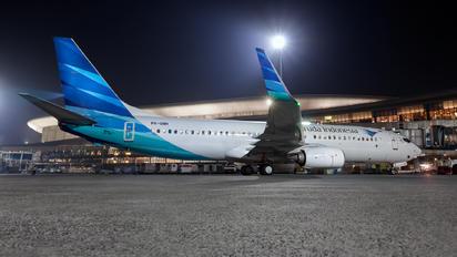 PK-GNH - Garuda Indonesia Boeing 737-800