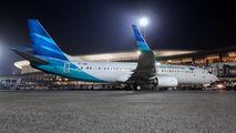PK-GNH - Garuda Indonesia Boeing 737-800 aircraft