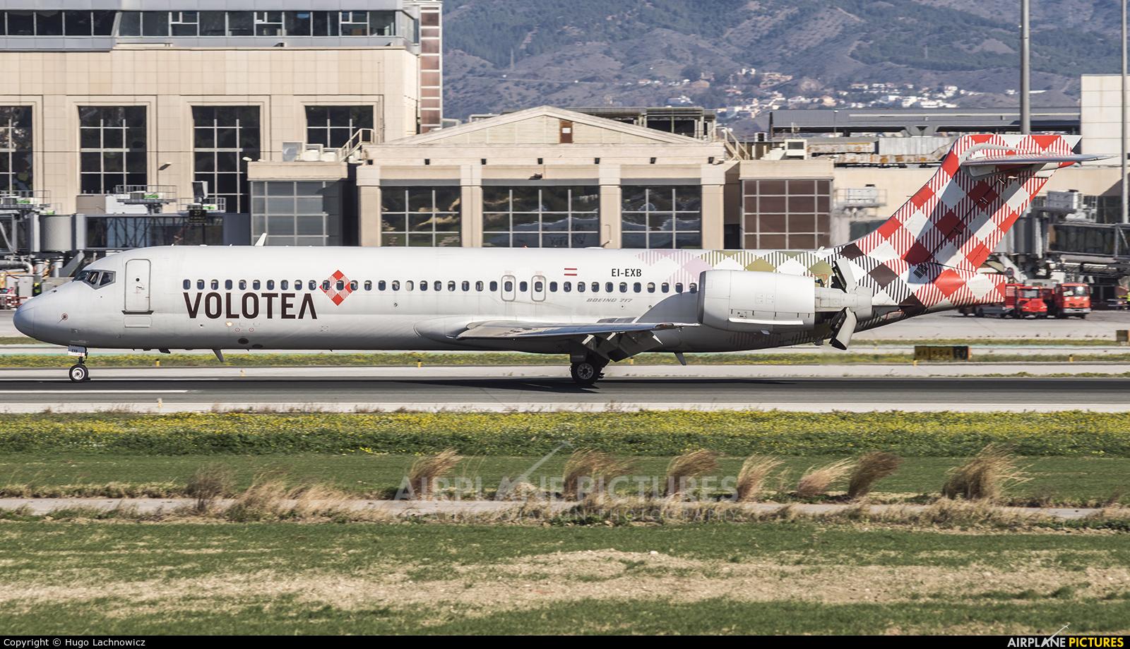 Volotea Airlines EI-EXB aircraft at Málaga
