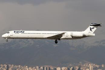 UR-BXI - Iran Air McDonnell Douglas MD-82