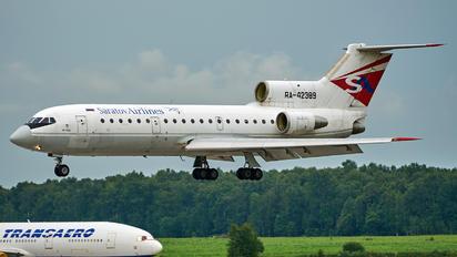 RA-42389 - Saratov Airlines Yakovlev Yak-42