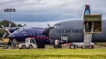 USAF Boeing KC-135 & An12 at Edinburgh title=