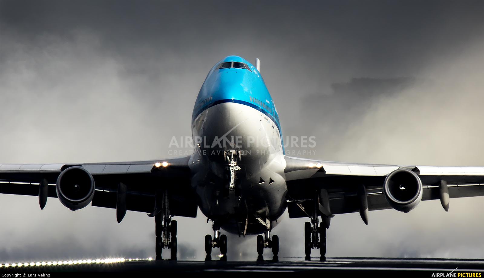 KLM Asia PH-BFC aircraft at Amsterdam - Schiphol