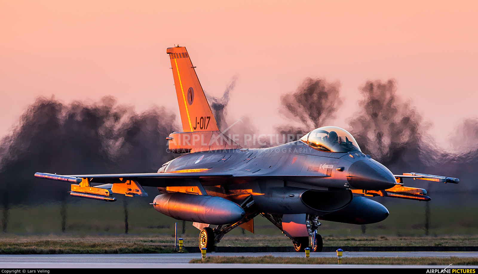 Netherlands - Air Force J-017 aircraft at Leeuwarden