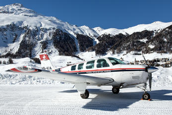HB-KIA - Swiss Federal Office for Civil Aviation Beechcraft 36 Bonanza