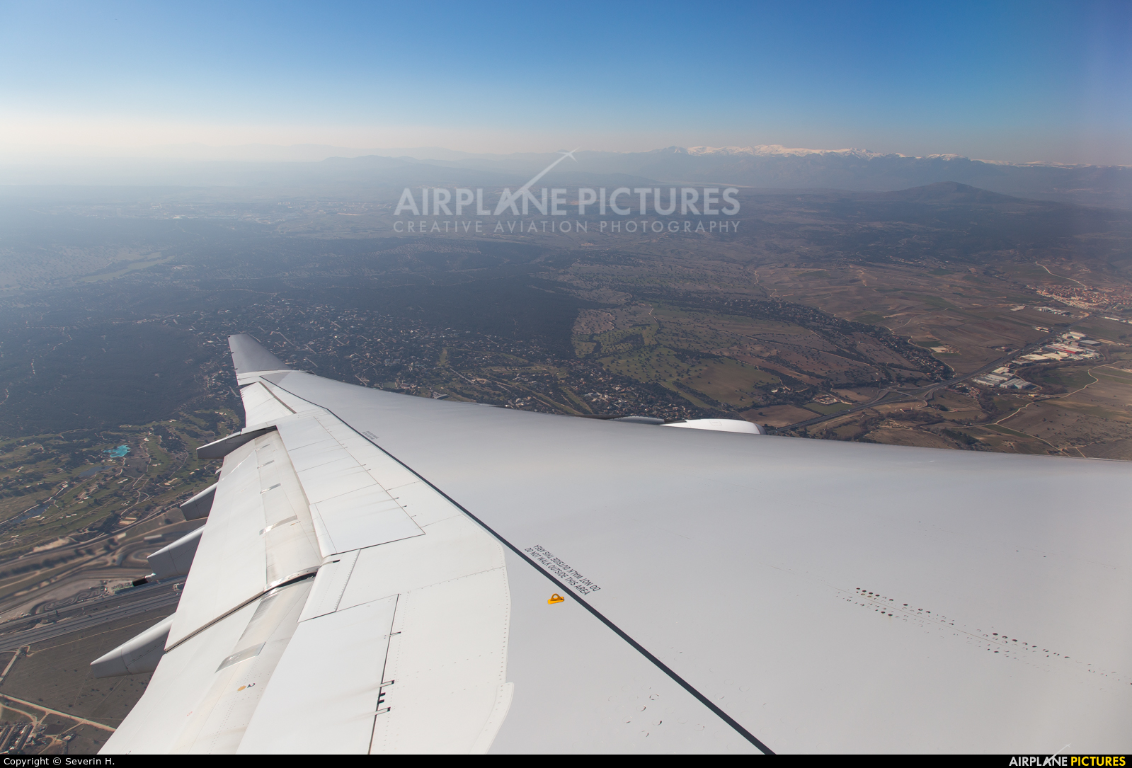 Iberia EC-LEU aircraft at In Flight - Spain