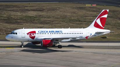 OK-NEM - CSA - Czech Airlines Airbus A319
