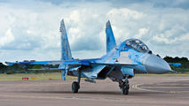 71 - Ukraine - Air Force Sukhoi Su-27UB aircraft