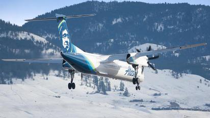 N436QX - Alaska Airlines - Horizon Air de Havilland Canada DHC-8-400Q / Bombardier Q400