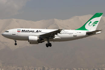 EP-MMN - Mahan Air Airbus A310