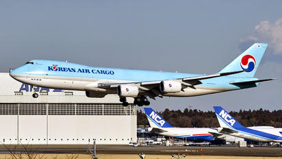 HL7617 - Korean Air Cargo Boeing 747-8F