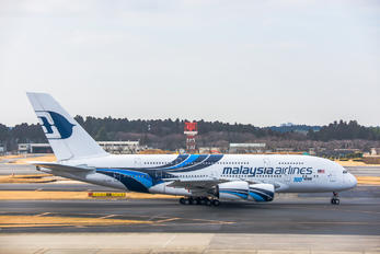 9N-MNF - Malaysia Airlines Airbus A380