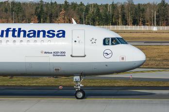 D-AISJ - Lufthansa Airbus A321