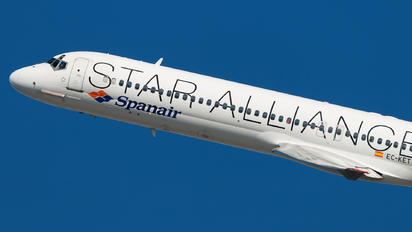 EC-KET - Spanair McDonnell Douglas MD-87