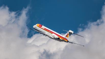 EC-EXN - Iberia McDonnell Douglas MD-87