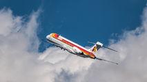 EC-EXN - Iberia McDonnell Douglas MD-87 aircraft