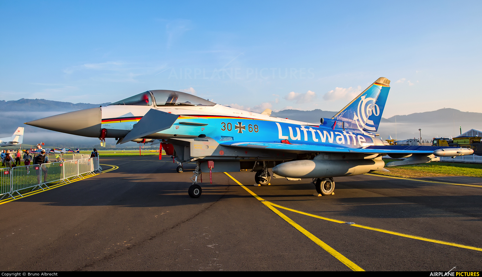 Germany - Air Force 30+68 aircraft at Zeltweg