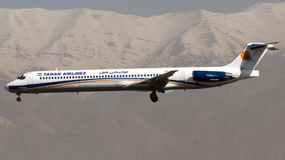 EP-TBF - Taban Airlines McDonnell Douglas MD-88