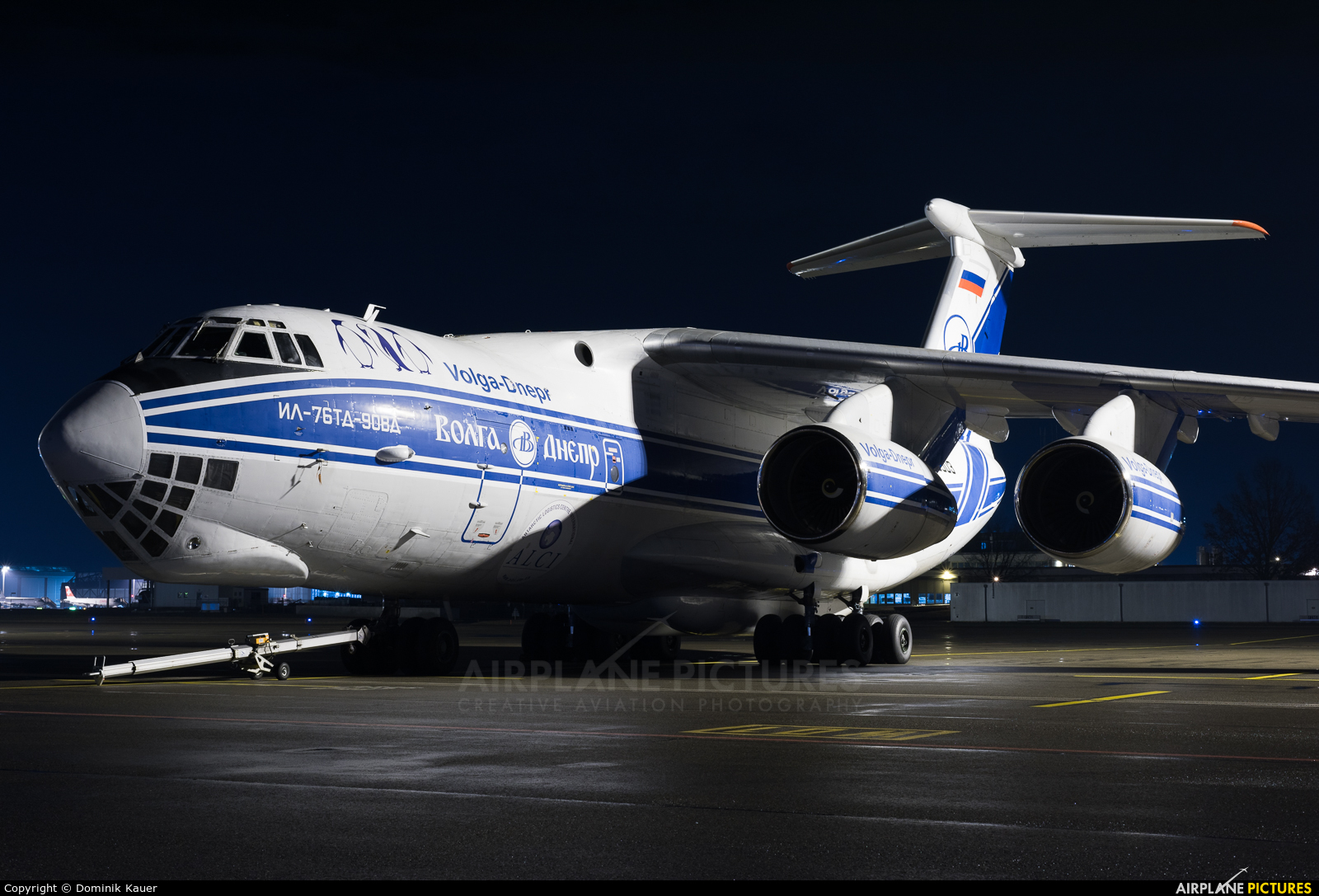 Volga Dnepr Airlines RA-76503 aircraft at Zurich