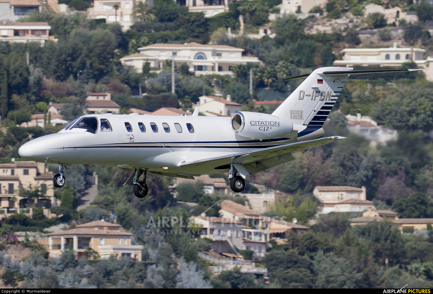 Private D-IFDN aircraft at Cannes - Mandelieu