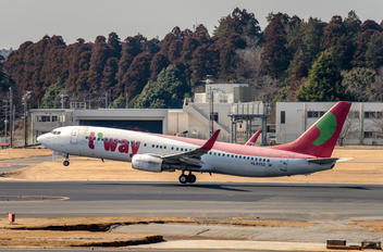 HL8253 - T'Way Air Boeing 737-800