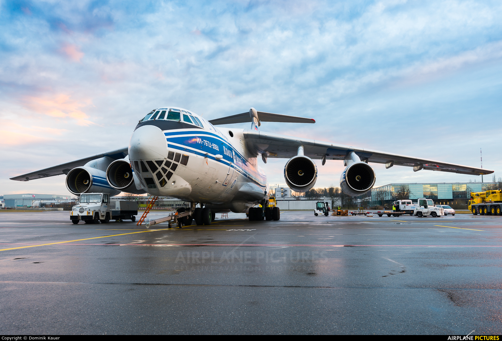 Volga Dnepr Airlines RA-76503 aircraft at Zurich