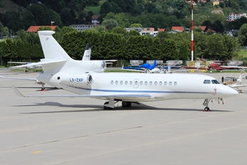 LX-ZXP - Global Jet Luxembourg Dassault Falcon 7X