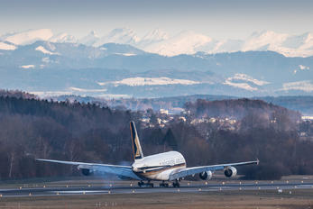 9V-SKI - Singapore Airlines Airbus A380