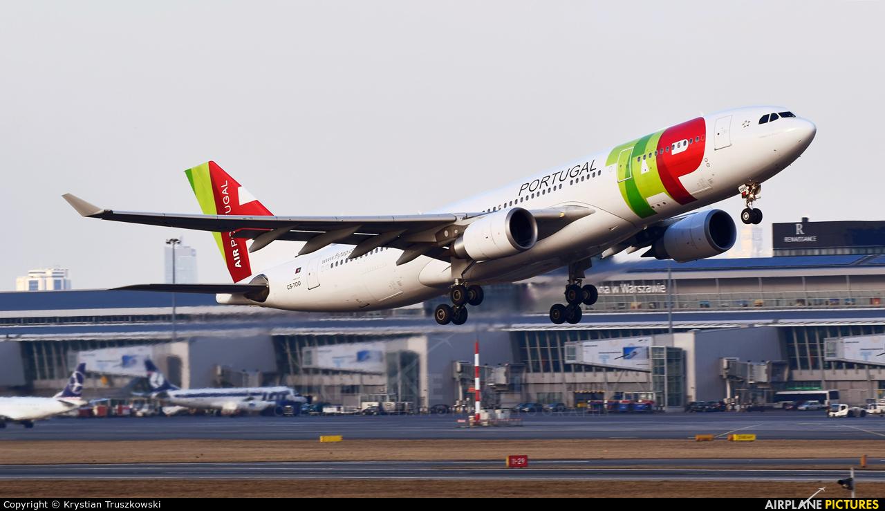 TAP Portugal CS-TOO aircraft at Warsaw - Frederic Chopin