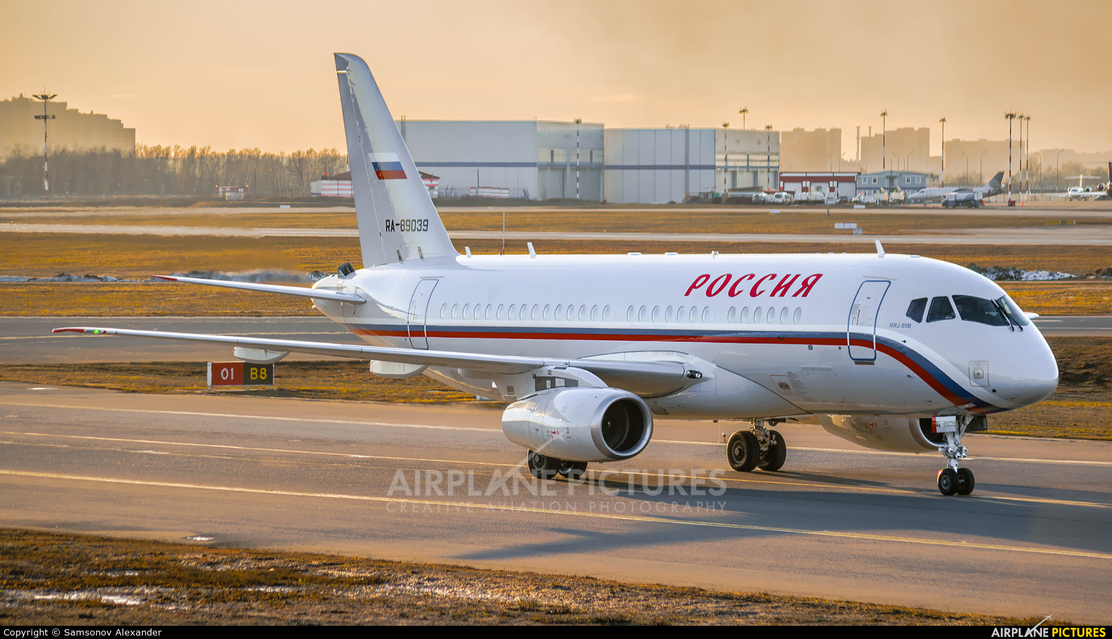 Rossiya Special Flight Detachment RA-89039 aircraft at Moscow - Vnukovo