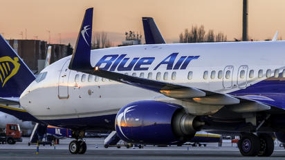 YR-BML - Blue Air Boeing 737-800