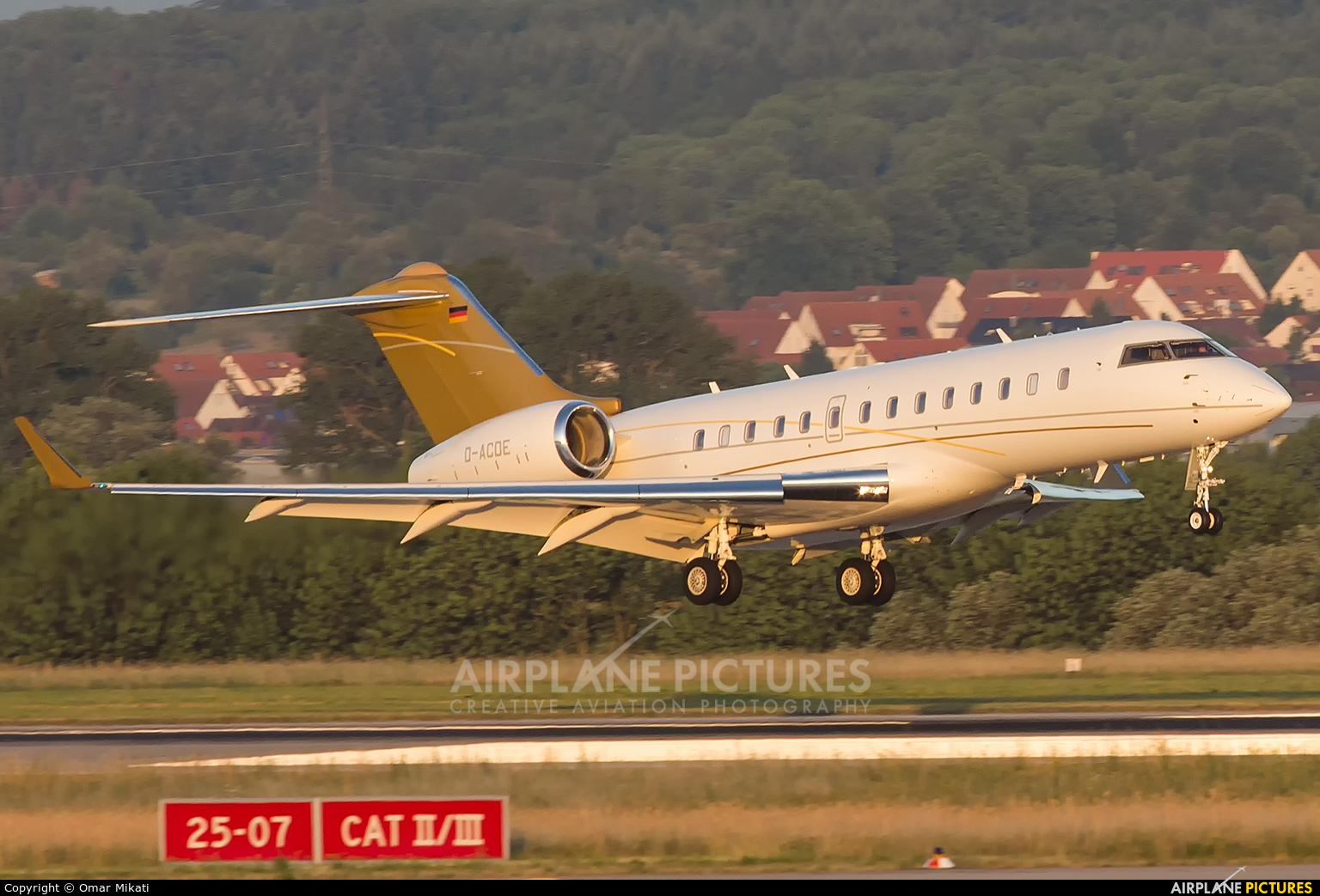 DC Aviation D-ACDE aircraft at Stuttgart